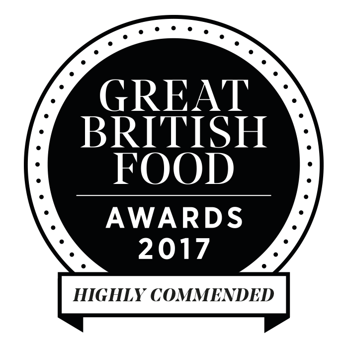 Great British Food Awards 2017 - Highly Commended