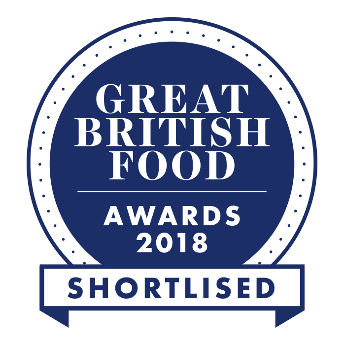 Great British Food Awards 2018 - Shortlisted